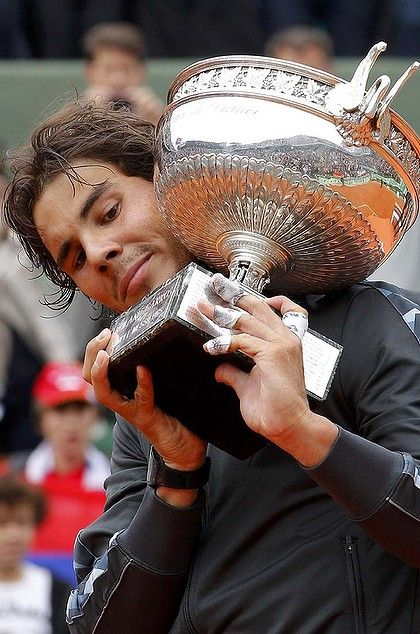 Rafael Nadal ... has now won seven French Open titles.