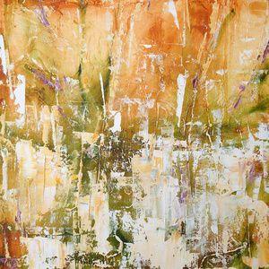 "Harvest  .  Oil on canvas  .  24"" x 24"" . 2013"