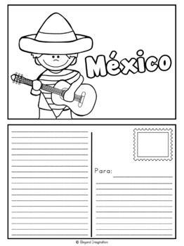Mexico Country Study | México Estudio de país | Español Edition | Spanish    #Mexico #México #Español #Spanish #resource #classroom #country #study #teacherspayteachers #TPT #passport #resource #idea #teacher #postcard