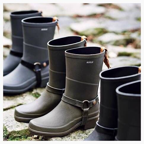 Aigle for all the family! Available from The Natural Shoe Store #aigle #boots…