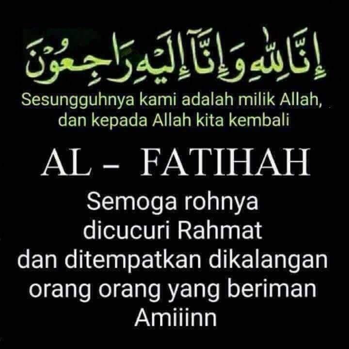 Inna Lillahi Wainna Ilaihi Rojiuun Al Fatihah Ungkapan Cinta