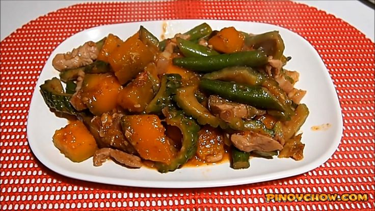 Pinakbet Recipe add Longanisa | PinoyChow.com | Filipino Food Recipe
