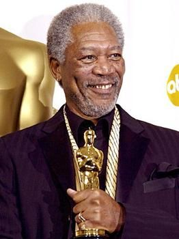 "Morgan Freeman. Academy Award Winner for Best Supporting Actor in ""Million Dollar Baby""."