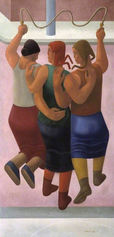 """William Patrick Roberts (1895-1980)  """"Skipping (The Gutter)"""", 1934/1935"""
