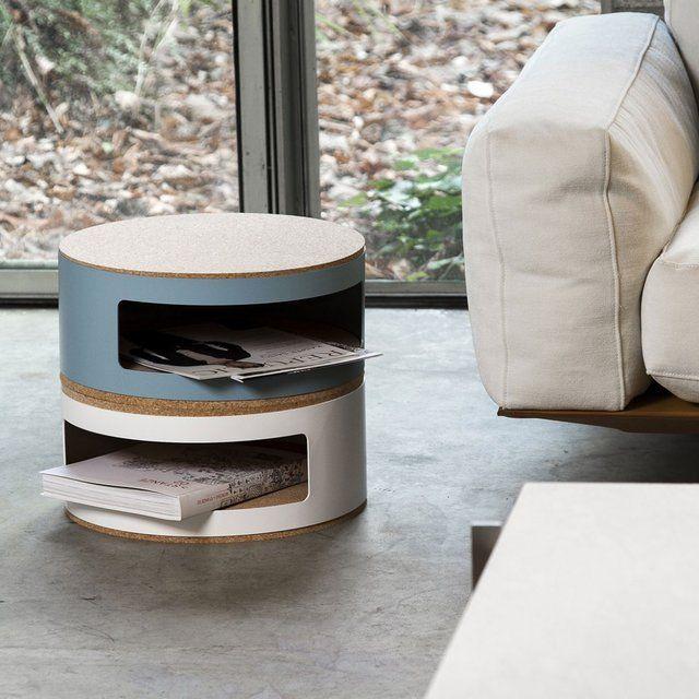 Kork Small Bedside Table #Bedroom, #Multifunctional, #Table