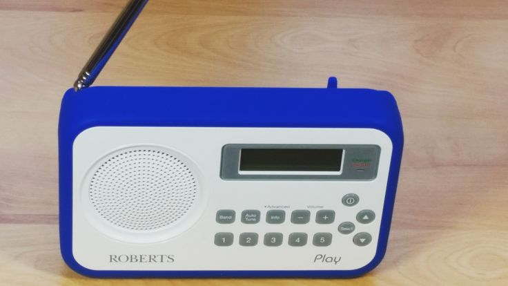 My trusty portable DAB radio for music while I work!! #dabradio #Roberts #Robertsradio #radiio #music