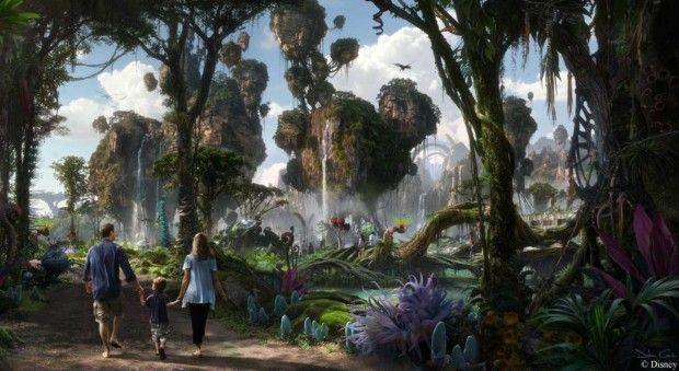 Visita Pandora el parque temático inspirado en la película de Avatar