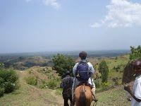 the mountains near Darbonne, Leogane, Haiti