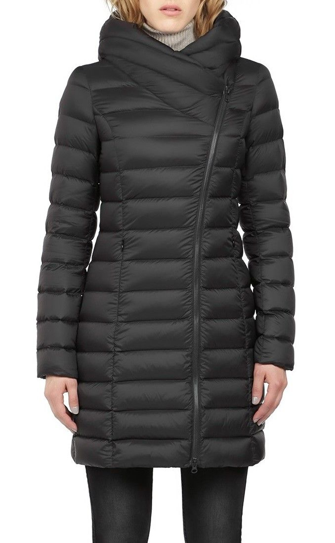 Soia kyo Karelle light down coat with large hood