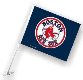 Boston Red Sox Car Flag