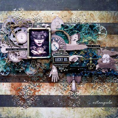 "Entry to September / October 2016 challenge ""Steampunk"" by Julia Tirskaya"