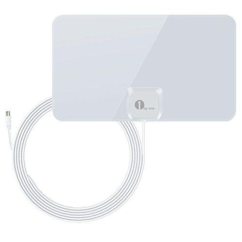 cool 1byone Ultra Delgada Antena Interior DVB-T, TDT, HDTV, 40 kilómetros Gama de Recepción, 4 Metros de cCable de Alto Rendimiento-Blanco Brillante Mas info: http://comprargangas.com/producto/1byone-ultra-delgada-antena-interior-dvb-t-tdt-hdtv-40-kilometros-gama-de-recepcion-4-metros-de-ccable-de-alto-rendimiento-blanco-brillante/