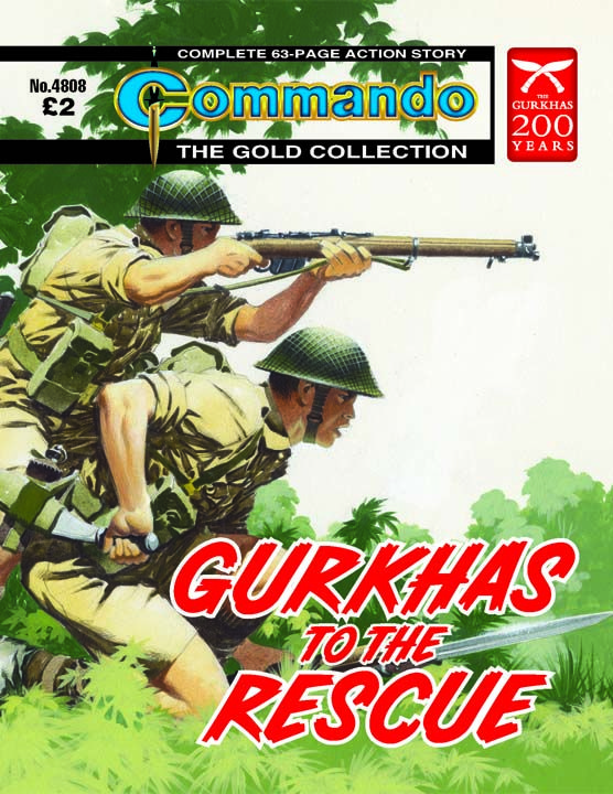4808 - Gurkhas To The Rescue | Commando Comics
