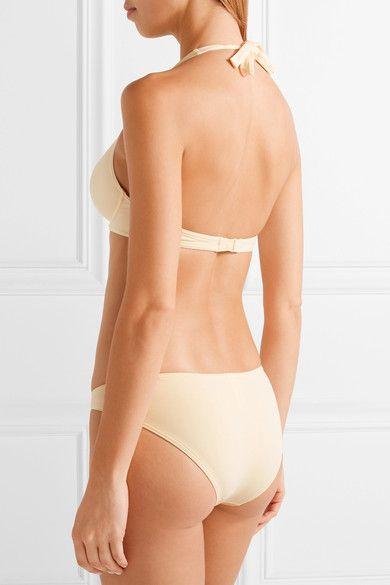 Eres - Les Essentiels Bandito Triangle Bikini Top - Cream - FR