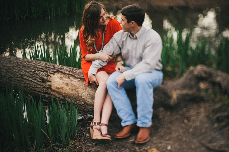 Bailey & Jonathan DFW Engagement Photographer (With