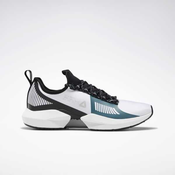 White reebok, Leather shoe laces