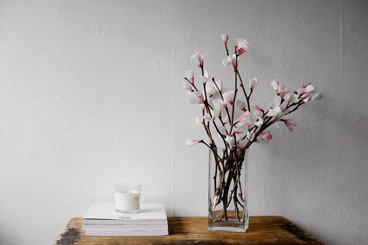 DIY : bouquet de fleurs en papier