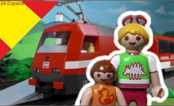 Playmobil en español Ir en Tren - La Familia Hauser