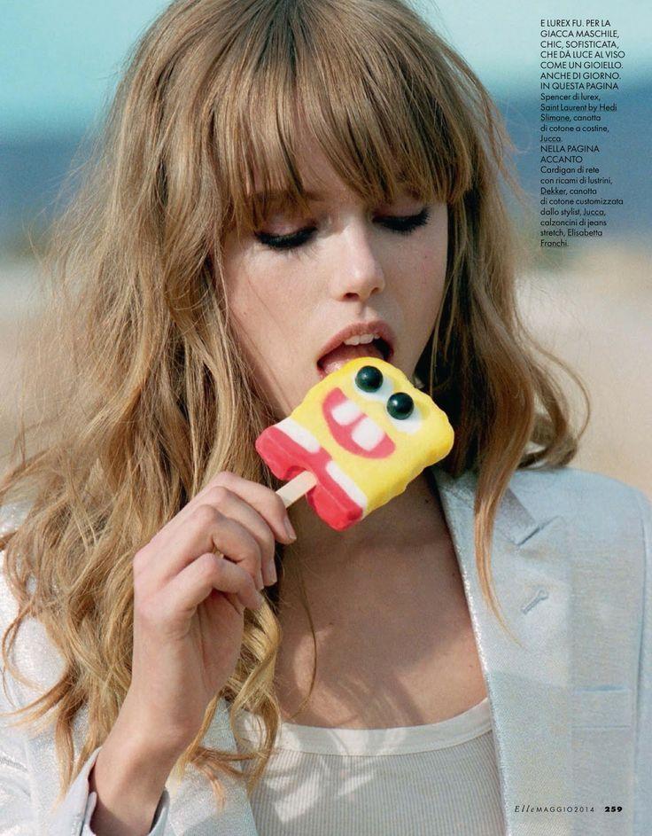 Frida Gustavsson #elleitalia #destinationsummer #popsicles