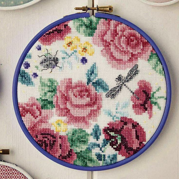 Coming Up Roses - Available in CrossStitcher Magazine 292