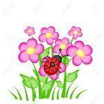 Resultado de imagen para flores y mariposas animadas