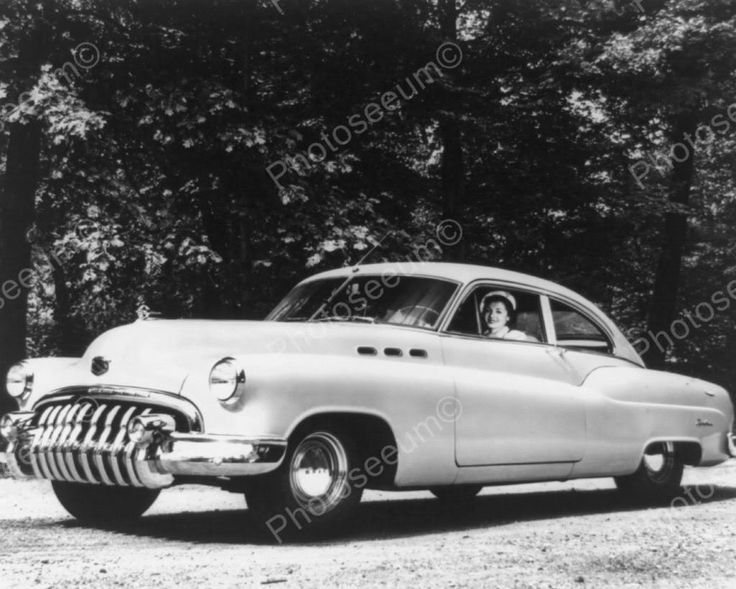 Buick Special Edition 1950 Auto 8x10 Reprint Of Old Photo