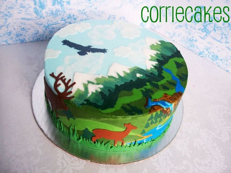 23 best images about Sportsman cakes on Pinterest Deer ...