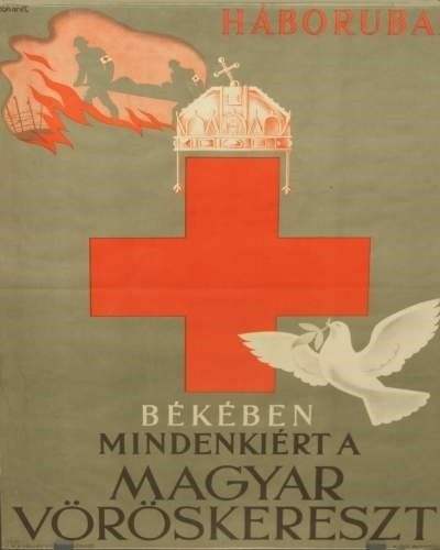 Gönczi Gerbhardt Tibor: Háborúban békében mindenkiért a Magyar Vöröskereszt  (1941)