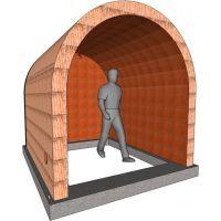 Der Clou - Gewölbekeller an einem Stück inklusive Fundament und Rückwand - Gewölbekeller