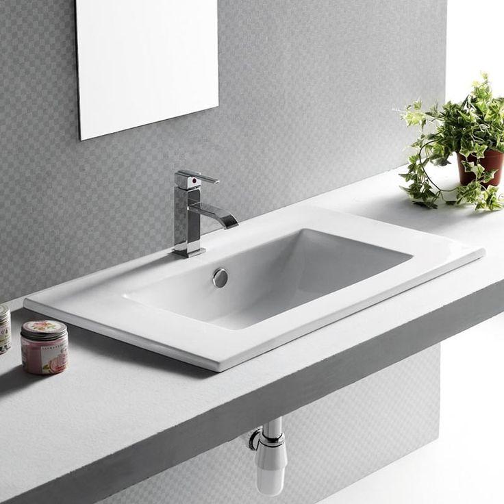 les 25 meilleures id es de la cat gorie vasque a encastrer. Black Bedroom Furniture Sets. Home Design Ideas