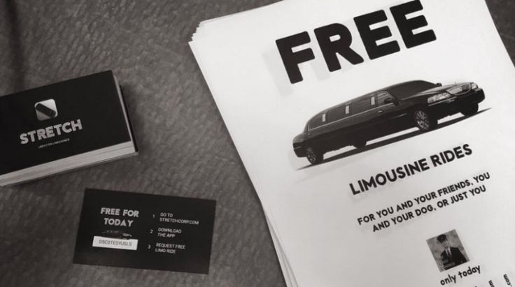 Two dudes start Uber for limousines to offer nearby strangers free rides