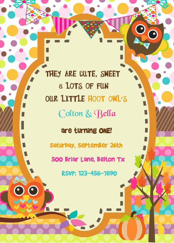 Best My Creations Images On Pinterest Filing Birthday - Halloween birthday invitations etsy