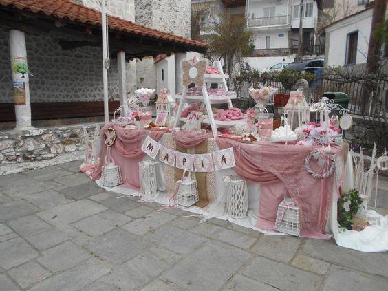 Ράνια | Βάπτιση - Στολισμός Βάπτισης - Κορίτσι - Βαπτιστικά Θεσσαλονίκη: