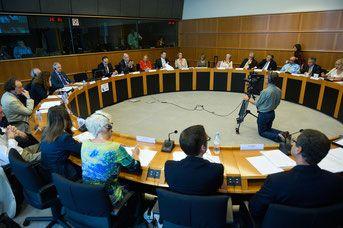 Vorstellung der IPF Patienten Charta im EU Parlament