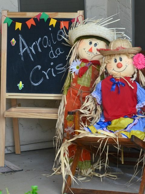 10 Ideias de Decoração de Varanda para Festa Junina  |   Decoração e Projetos