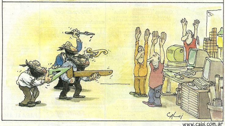 Carlos Loiseau o Caloi en su tinta. Humorismo grafico (3)