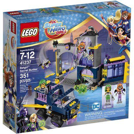 Lego DC Super Hero Girls Batgirl Secret Bunker 41237