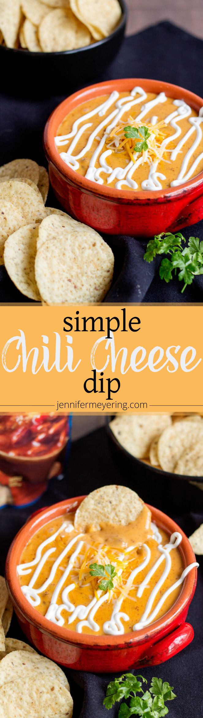 Simple Chili Cheese Dip
