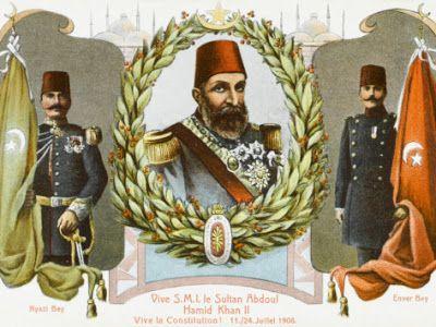Abdul Hamid II (sultán entre 1876 y 1909)