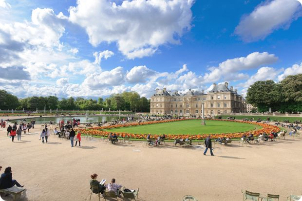 Jardin Luxembourg   from Paris Patisseries