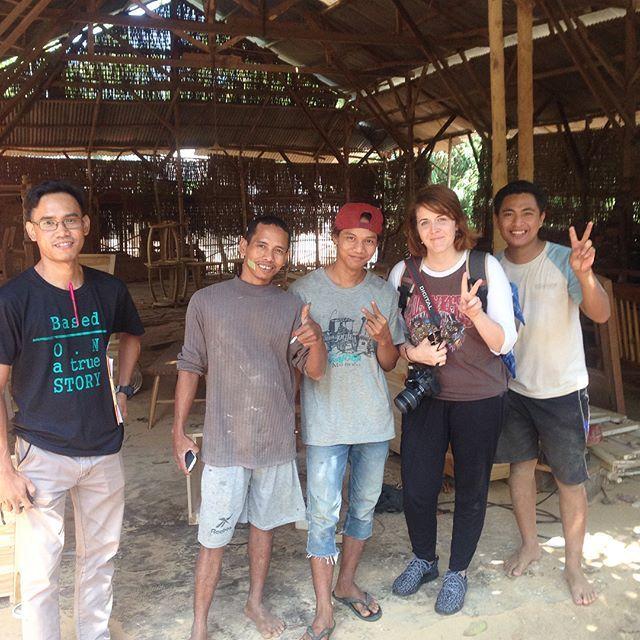 meeting furniture makers in Jepara, Indonesia