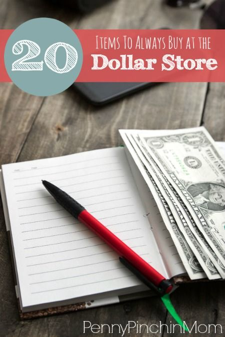 To help simplify things for you, I've identified 12 things that are worth buying at the dollar store: 1. Greeting Cards – With the average price of greeting cards .