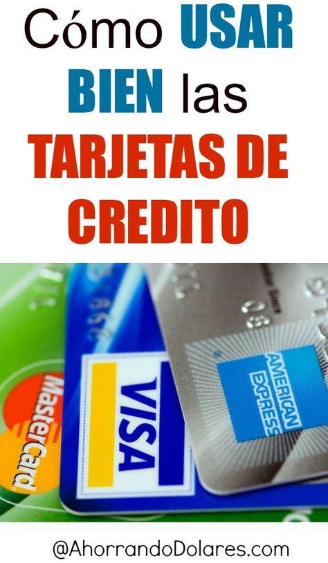 Encuentra aquí lo que debes hacer para usar bien una tarjeta de crédito.Tips y consejos para ahorrar.