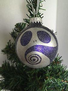 The Nightmare Before Christmas Purple Jack Skellington Tim Burton Ornament