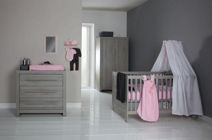 Kidsmill - Βρεφικό δωμάτιο Vicenza Grey #nursery #NurseryRoom #NurseryFurniture #baby #Kidsmill #growingup #BebejouHellas