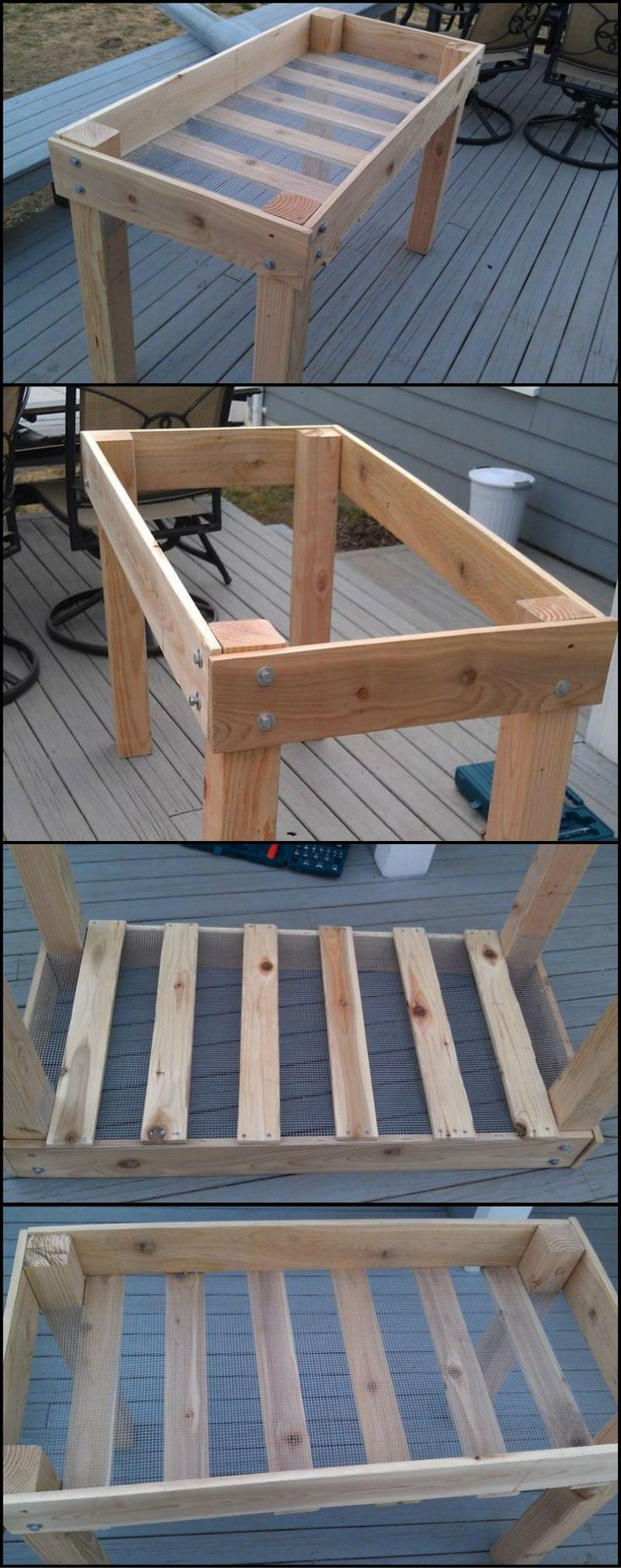 How To Build Your Own Raised Herb Planter  http://theownerbuildernetwork.co/c6xb  Does tending to your plants make it hard for your back? Then a raised planter like this may be the solution.  Your plants are safe as this makes it difficult for critters to reach them. It's easier on your back as you don't have to hunch over to tend to your plants.