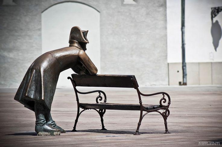 Napoleon's army soldier statue in Bratislava, Slovakia http://timeforslovakia.com/best-of-bratislava