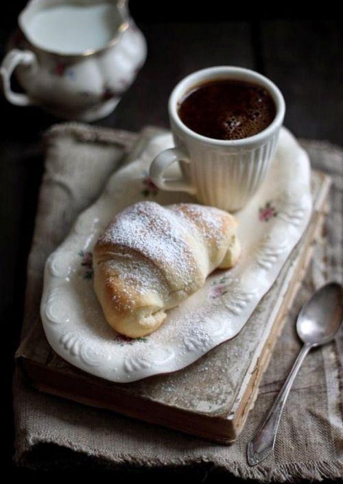 coffee & croissant decadence