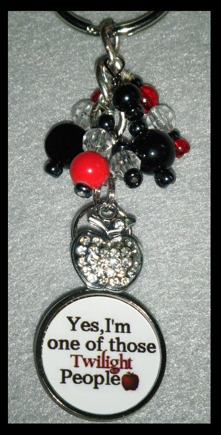 Twilight Inspired Keychain Yes Im one of by BlueLambCreations, $16.00.  no longer avail.