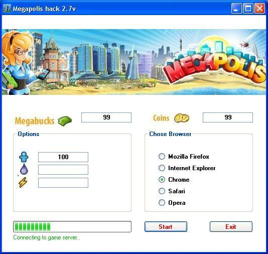 Megapolis Hacks